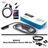 Spesifikasi Sony Magnetic Charging Cable For Xperia Z1 Z2 Z3 Z Ultra Hitam Bonus Sony Handsfree Stereo Mh 750 Murah