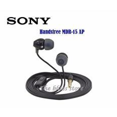 Spesifikasi Sony Mdr Ex15Ap Handsfree Headset Earphone Original Black Murah Berkualitas