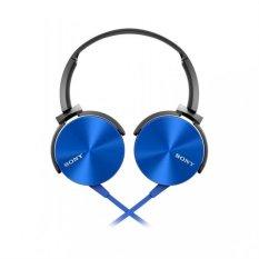 Spesifikasi Sony Mdr Xb450Ap Headphone Extra Bass Biru Dan Harganya
