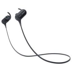 Sony Original MDR-XB50BS  / MDR XB50BS / MDRXB50BS Black Wireless Bluetooth Headphones With Mic - headset warna Hitam garansi resmi 1 tahun Sony Indonesia
