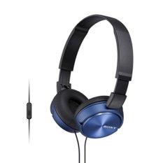 Sony Mdr Zx310Ap Headphone Biru Dki Jakarta