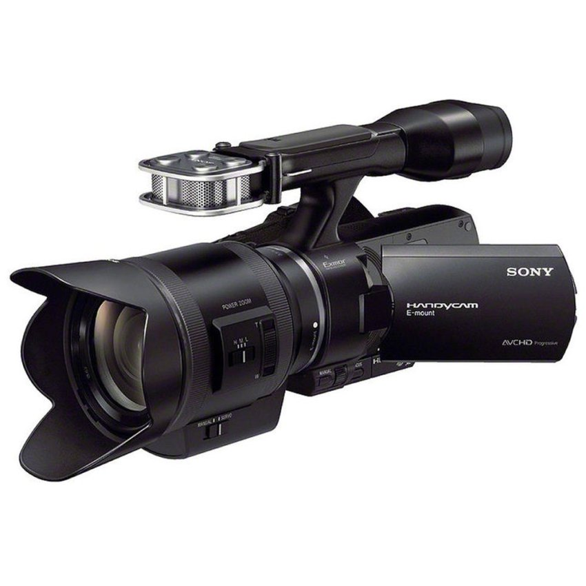 Harga Sony Nex Vg30 Camcorder With 18 200Mm F 3 5 6 3 Power Zoom Lens Hitam Sony Terbaik