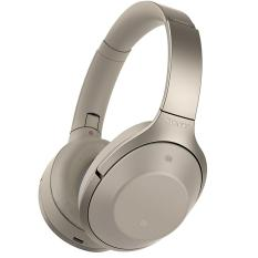 Promo Sony Noice Cancelling Bluetooth Headphone Mdr 1000X Cream