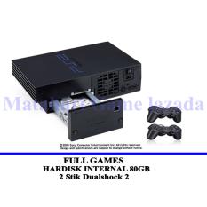 Sony Playstation 2 Fat Network - HDD Internal 80GB - Grade A