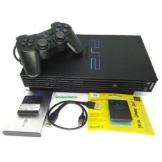 Sony Playstation 2 Multisystem Optik + Hdd Eksternal 40 gb