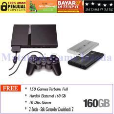 Sony Playstation 2 Slim Seri 7 HDD160GB - Grade A