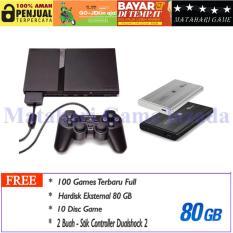 Sony Playstation 2 Slim Seri 7 HDD80GB - Grade A