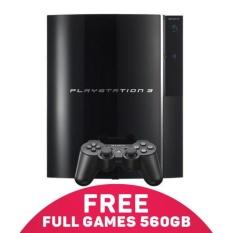 Sony Playstation 3 Fat Hdd 60 + External 500Gb