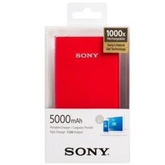 Beli Sony Power Bank Cp V5A 5000Mah Merah Nyicil