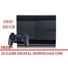 Sony PS3 SUPER SLIM Ofw isi Game Cfw HDD INTERNAL 250GB FULL GAME+ 1STIK playstation 3