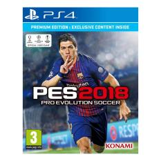 SONY PS4 Game Pro Evolution Soccer 2018 - PES 2018 Premiun Edition