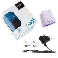Daftar Harga Sony Quick Charger Ep881 Original New 2A Hitam Sony