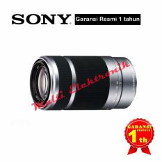 Sony SEL 55-210mm Silver Lensa Kamera