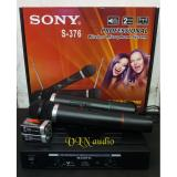 Harga Sony S 376 Microphone Double Wireless Uhf Hitam Sony Ori