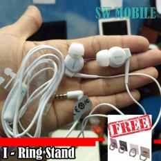 Sony Stereo Handsfree EX300AP Hight Quality (Putih) + FREE I-RING STAND