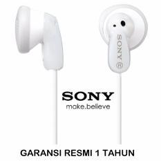 Spesifikasi Sony Stereo Headphones Mdr E9Lp Crystal Clear Sound Putih Sony Terbaru
