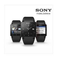 Sony SW2 Smart Watch 2 Android NFC Bluetooth Kulit Hitam Tali/Strap Kulit Coklat-Intl