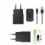 Jual Sony Travel Charger Type Uch10 Fast Charging Konektivitas Kabel Micro Usb Original Hitam Branded
