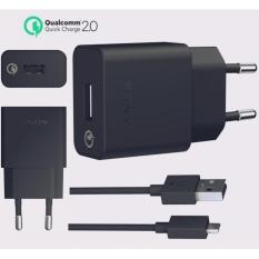 Jual Sony Travel Charger Uch10 Kabel Micro Usb Original Hitam Dki Jakarta