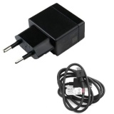 Beli Sony Xperia Fast Charger Ep880 Travel Charger Head Cable Data Micro T3 M2 Z2 Original Black Hitam Seken