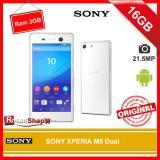 Jual Beli Sony Xperia M5 Dual 16Gb Ram 3Gb 13Mp Original 100 Garansi 1Thn