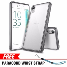 Sony Xperia X Performance Case Ringke [FUSION] Crystal Clear Minimalis Transparan PC Back TPU Bumper [DROP Protection] Tahan Gores Pelindung Cover untuk Xperia X Performance-Intl