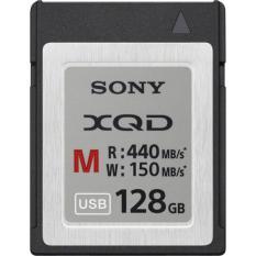 Sony XQD M Series 128GB 440Mb/S - Silver dan Hitam