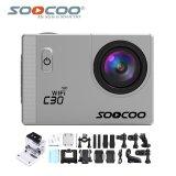 Spesifikasi Soocoo Official C30 Wifi 4K Waterproof Action Sport Camera Silver Murah