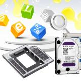 Review Tentang Cheer 9 5Mm Universal Sata 2Nd Hdd Ssd Harddisk Kadi For Cd Dvd Bay Optik Rom