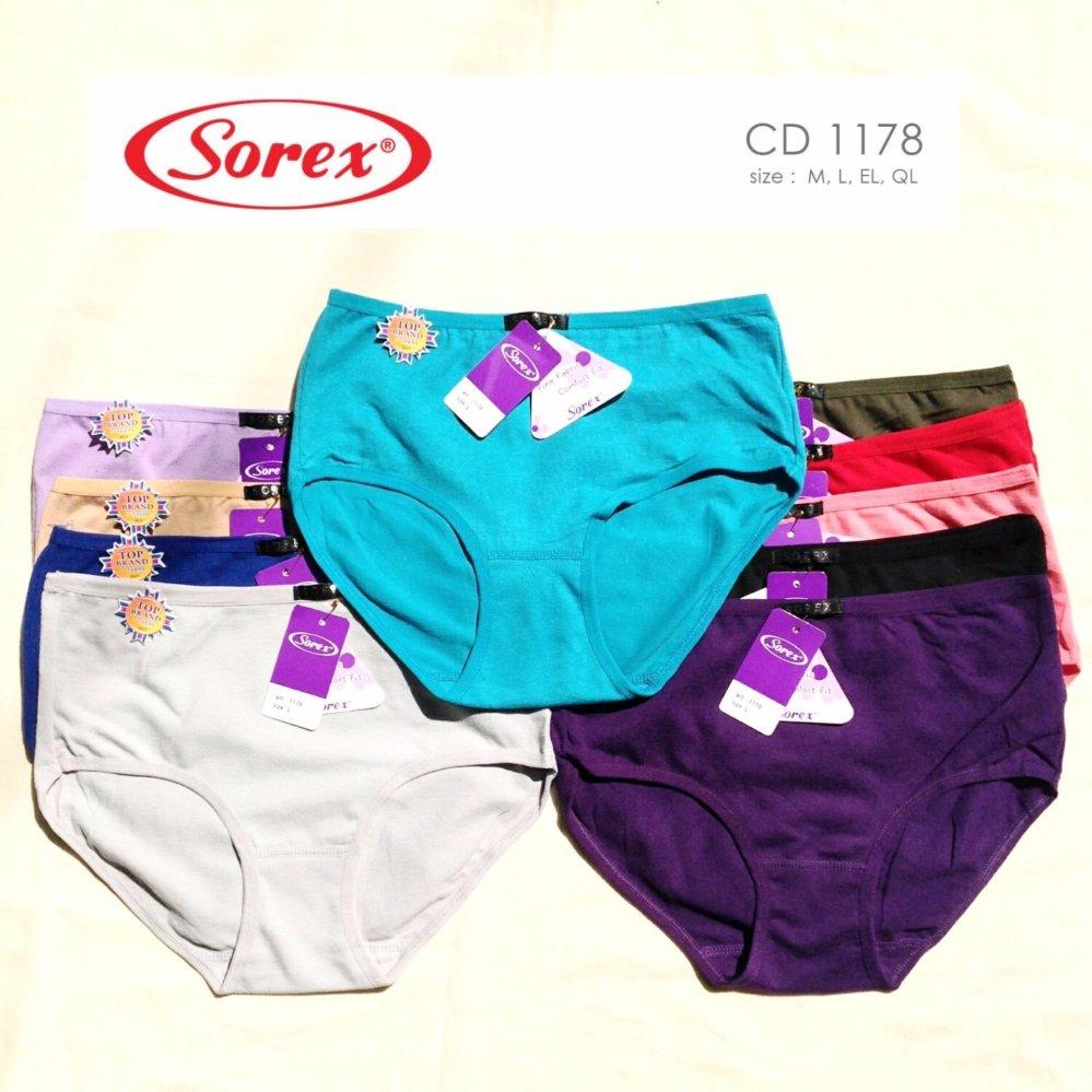 Sorex - 6 Pcs Celana Dalam Wanita Type 1178 Size M af126b5d9a