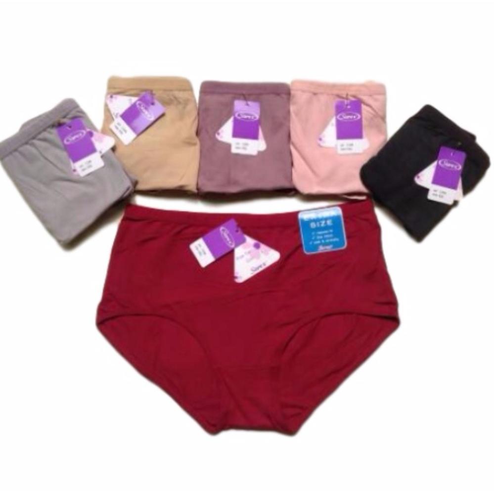 Diskon Besarsorex 6 Pcs Celana Dalam Wanita Type 1248 Jumbo Size Warna Random