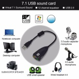 Toko Sound Card Usb Virtual 7 1 Channel Oem