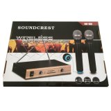 Beli Soundcrest Microphone Wireless Uhf 800 Soundcrest Murah