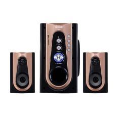 SP GMC 886 M Bluetooth Speaker - Hitam GOLD [Subwoofer System]