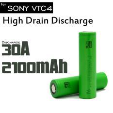 Tips Beli Sp Original 3 6V 18650 Us18650Vtc4 2100Mah High Drain Vtc4 For Sony 30A Rechargeable Battery Vapor Vape Yang Bagus