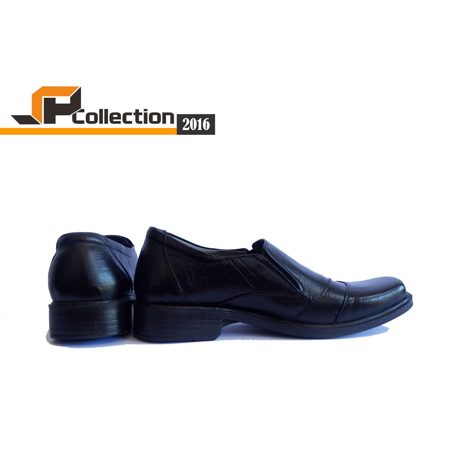 SPATOO Sepatu Formal 2016 Warna Hitam Bahan Kulit Sapi Asli Cocok Dipakai Dalam Segala Kegiatan Formal maupun Non Formal