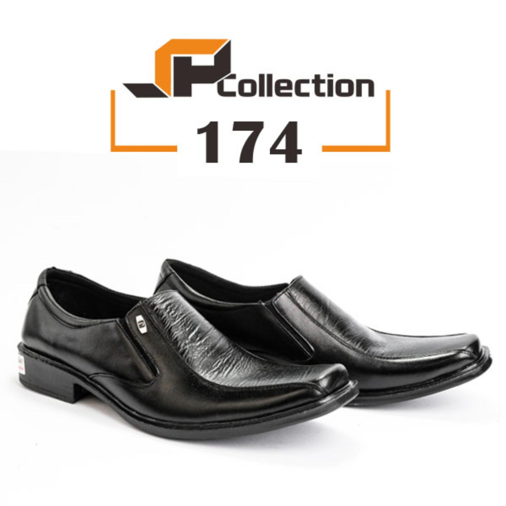 Original SPATOO Sepatu Pria 100% Kulit Asli Model 174 - Hitam / Sepatu Pantofel / Sepatu Pria Murah / Sepatu Kulit Asli / Sepatu Pria Slip On / Sepatu Pria Murah / Sepatu Pria Kulit Asli / Sepatu Kerja Kulit Pria / Sepatu Pria Formal Kulit Asli