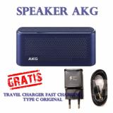 Beli Speaker Akg Type S30 All In One Portable Bluetooth Speaker Original Gratis Samsung Travel Chager Fast Charging Meteor Blue Online