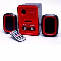 Speaker Aktif Advance Duo 200, Super Bass