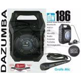 Jual Cepat Speaker Aktif Bluetooth Portable Karaoke And Radio Dazumba Dw186
