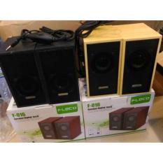 Speaker Aktif FLECO F-016 / Speaker Mini HP dan Komputer  NRL