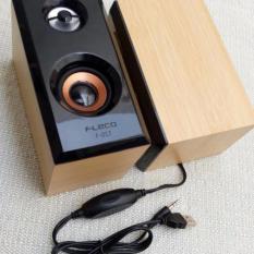 Speaker Aktif Kayu FLECO F-017 Extra Super Sound