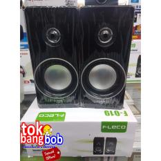 Speaker Aktif Kayu FLECO F-019 Extra Super Sound