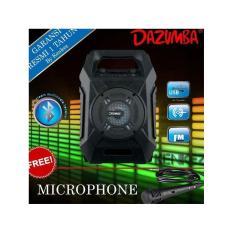 Speaker Aktif Portable Bluetooth Karaoke and Radio Dazumba DW186