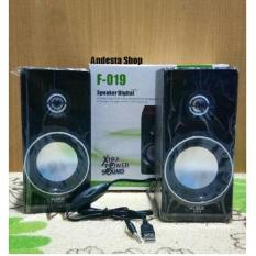 Speaker Aktip Fleco F-019 Digital Musik Audio Komputer By Andesta Shop.