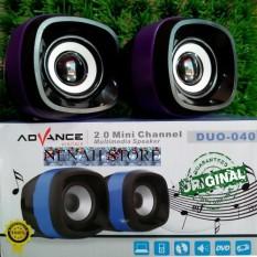 Speaker Aktive Advance Duo Cocok Untuk Hp, Laptop Dan Pc Extra Bass By Nenah Store.