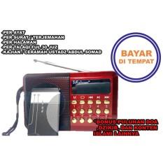 Harga Speaker Audio Al Quran Alat Bantu Murajaah Penghafal Alquran Rl4013 Branded