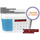 Beli Speaker Audio Al Quran Murajaah Hafal Alquran Tp600 Nyicil