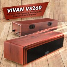 Speaker bass vivan VS260 kayu minimalis keren