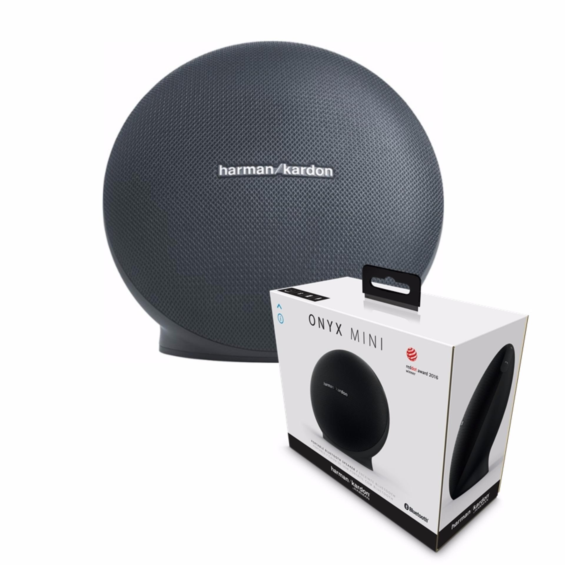 Jual Speaker Bluetooth Onyx Mini Portable By Harman Kardon Hitam Ori